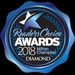 Readers Choice Award 2018 Milton Champion