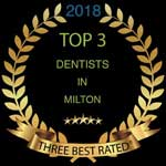 Top 3 Dentists in Milton Award