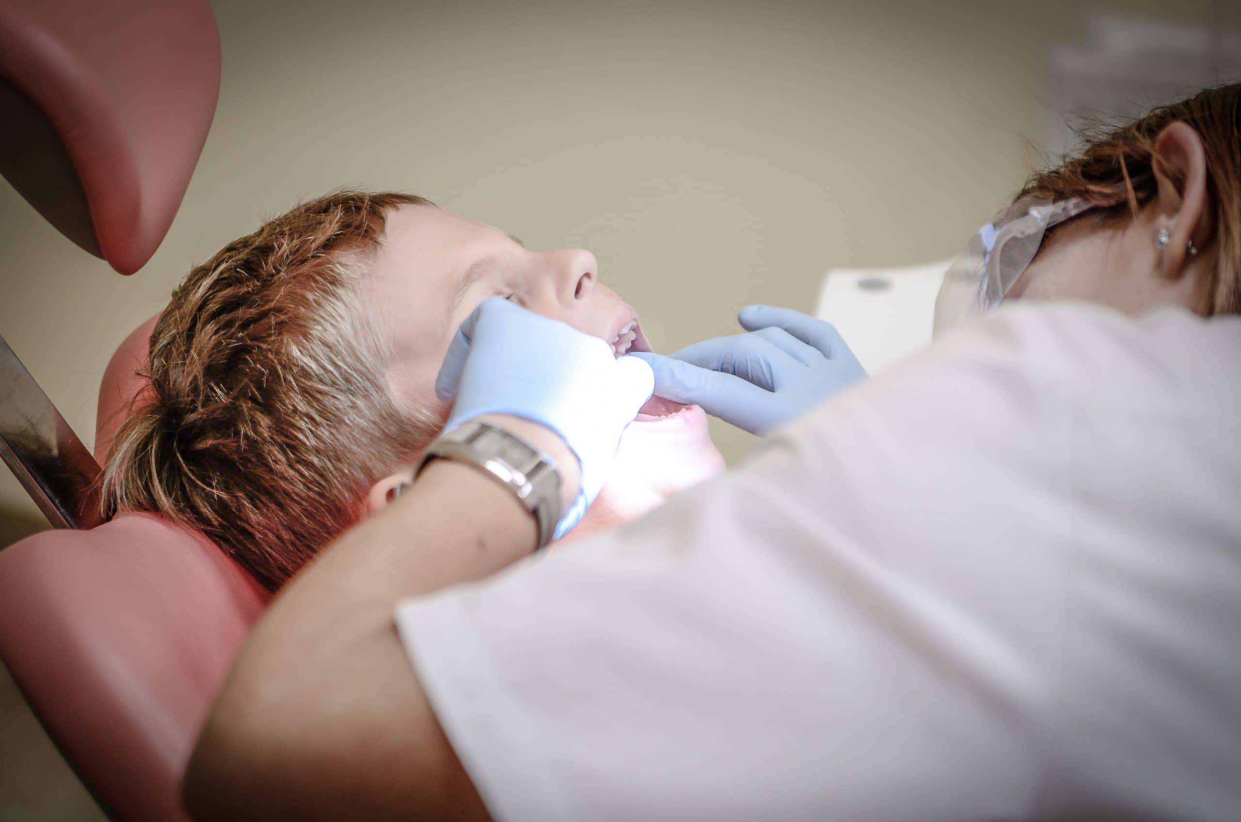 kid first dentist